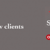 New Clients – Stag & Bow, and On The Hoof